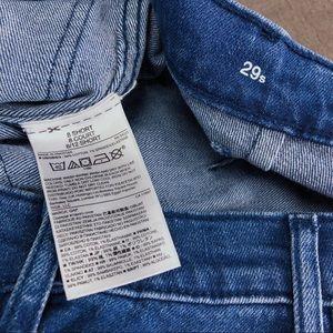 GAP Jeans - GAP High Rise Mariner Wide-Leg Jeans